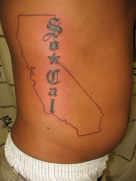 so cal tattoo so cal california map by mremo on deviantart