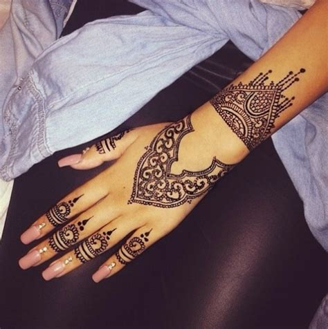simple henna tattoos tumblr henna design