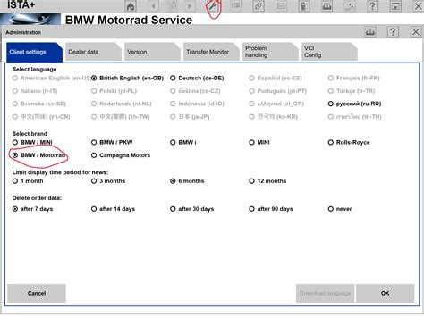 Ista P Motorrad by Software Update At Home With Ista P And Icom I Bmw