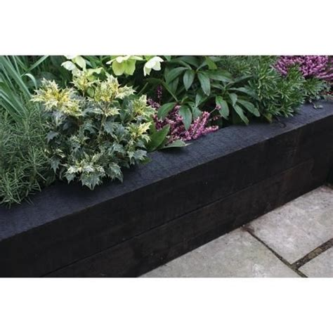 Black Railway Sleepers by 70 Best Images About Garden Deck Landscaping On Gardens Raised Beds And Sleeper