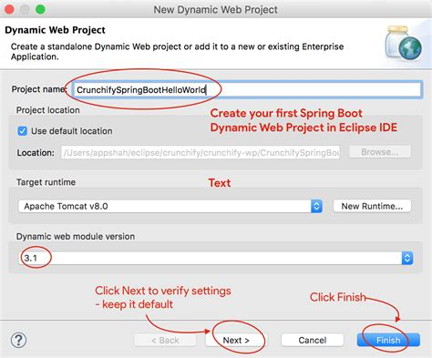 tutorial java dynamic web project java spring boot tutorial live hello world web
