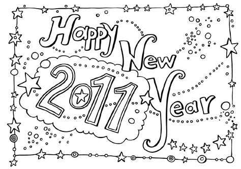 new school year coloring pages rainbow international school happy new year 2011 coloring