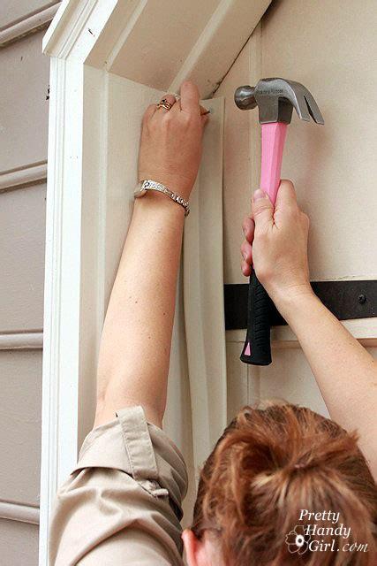 install garage door weather stripping installing weatherstripping on a garage door really warms