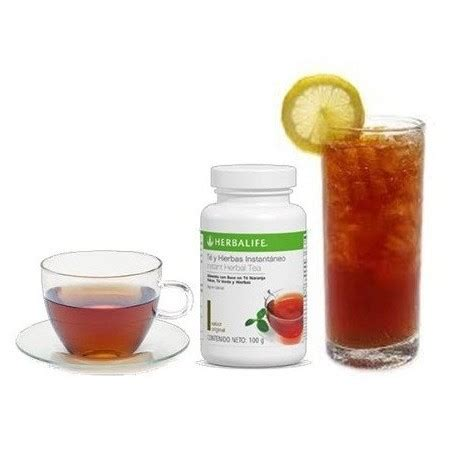 Original Thermo Tea Shake herbalife weight management programme all things
