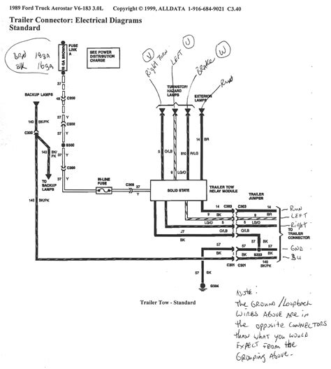 semi trailer light wiring diagram wiring diagram