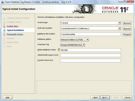 tutorial oracle 11g oracle 11g database installation pic 2
