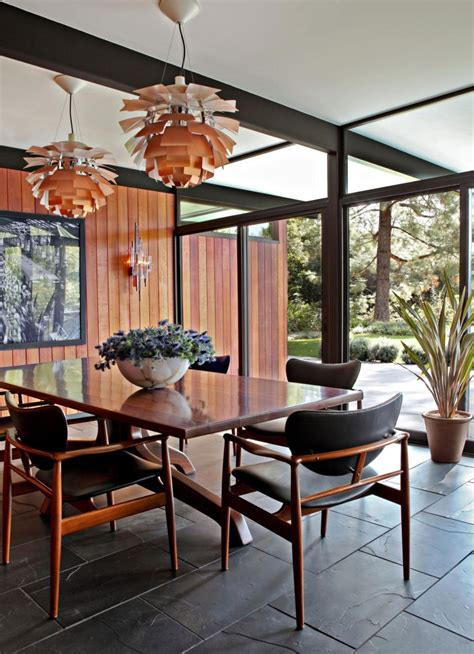Mid Century Dining Room by Mid Century Modern Interior Decor Decosee