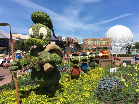 Epcot International Flower Garden Festival 2018 Dates Flower And Garden Festival