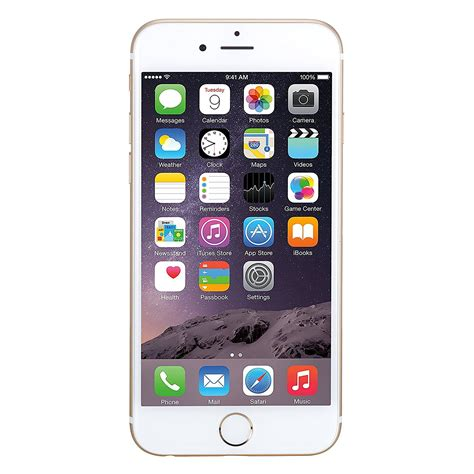 Iphone 6 16 Gb Gold Refurbished apple iphone 6 16 gb unlocked gold certified refurbished
