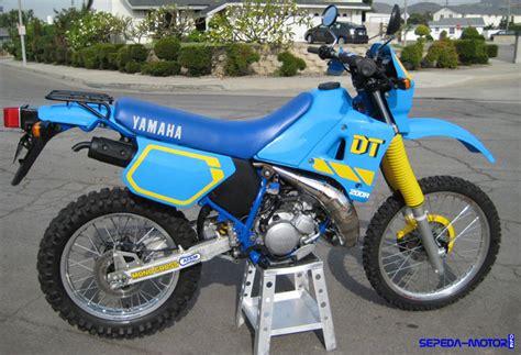 yamaha dt motor trail populer era tempo dulu info