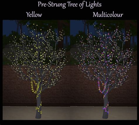 tree of lights pre strung tree of lights multicolour recolours by