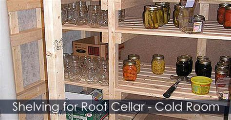 how to build a cold room in your basement build root cellar cold storage room shelving ideas
