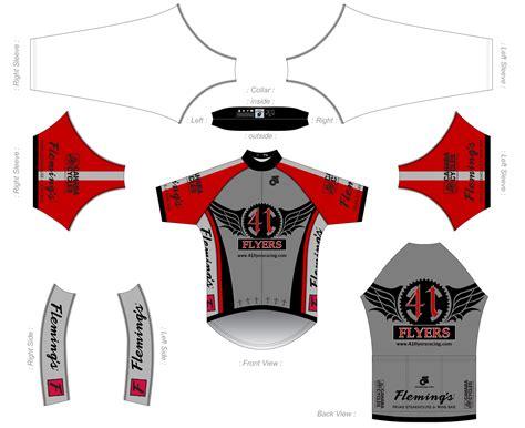 design a jersey template ulser 41flyersracing