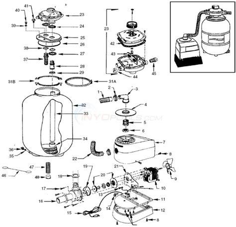sand filter parts diagram muskin sand filter system model fs643 parts inyopools