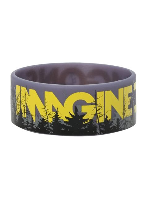 imagine dragons forest rubber bracelet top dude this