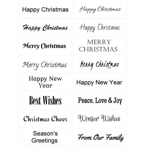 printable christmas card sentiments peel off christmas sentiments sticky verses for handmade