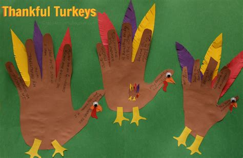 thanksgiving craft projects toddlers thankful turkeys thanksgiving craft for families