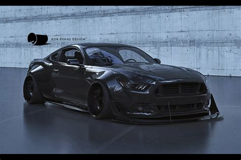 widebody mustang 2015 mustang to wide or not to wide speedhunters