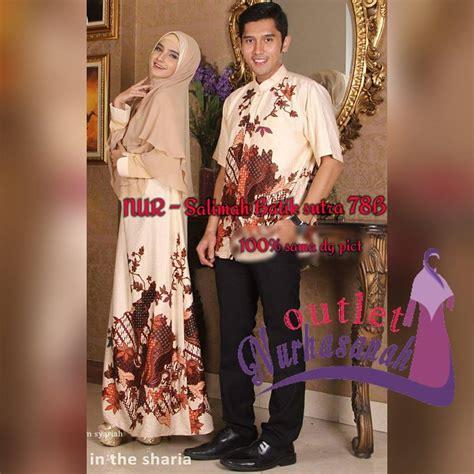 Sarimbit Batik Pekalongan Sarimbit Gamis Baju Baju Pesta baju pesta butik outlet nurhasanah outlet baju pesta keluarga muslim