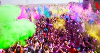 holi color run hint of the week holi run april 2016
