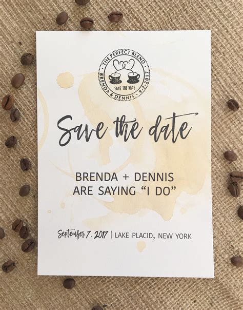 free date card templates the blend save the date card free wedding