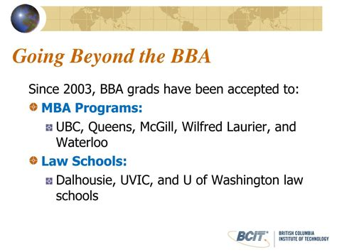 Bcit Mba Part Time by Ppt The Bcit Bba Bachelor Of Business Administration