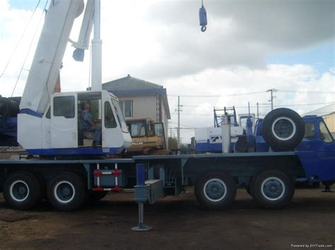 used tadano truck crane tg500 tg550e china trading