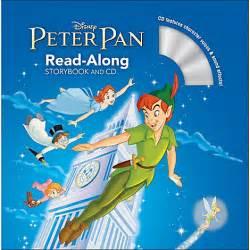 peter pan storybook cd books disney store