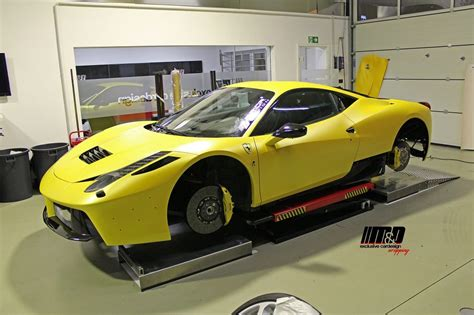 Ferrari Originalfarbe by Ferrari 458 Italia Premiumfolierung Mit Pwf Sunflower