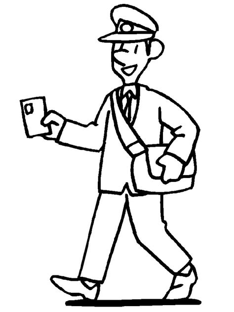 Mailman Coloring Pages free coloring pages of postman pat jess the cat