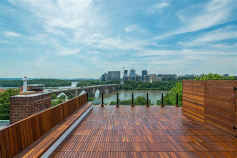 federal style georgetown rowhouse  views