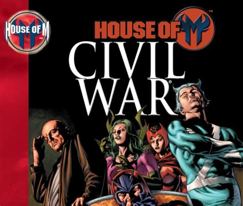 house of m house of m civil war trade paperback comic books