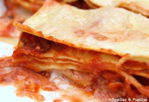 cuisiner des lasagnes recette de lasagnes lasagnes 224 la bolognaise