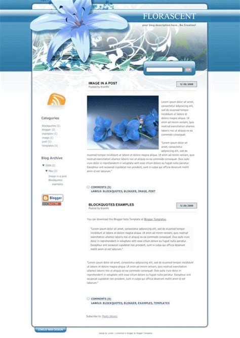 xml flash templates for blogger 50 most beautiful templates part 2 xml blogtemplates