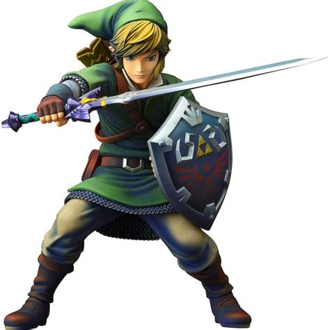 figure link the legend of skyward sword 1 7 scale pre painted