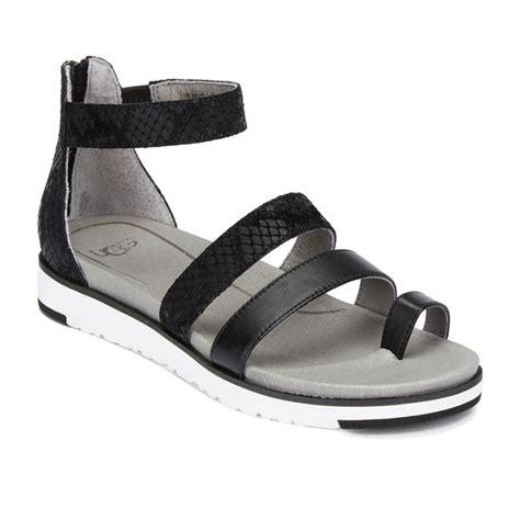 Sandal Gladiator 50 ugg s zina gladiator sandals black free uk