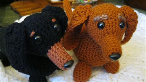 dave the stash busting dachshund knit flat in the 883 best images about amigurumi dogs on pinterest free
