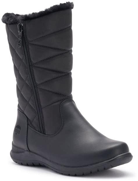 totes waterproof womens boots totes joyce s waterproof winter boots shopstyle