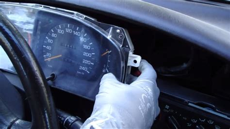 Toyota Instrument Panel Lights How To Replace The Instrument Panel Light Bulbs On A 90s