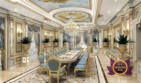 nice contemporary dining room interior