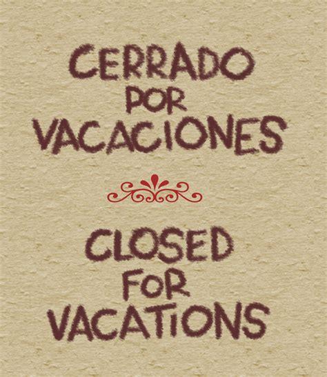 imagenes vacaciones modo on aresponopolis cerrado por vacaciones julio agosto