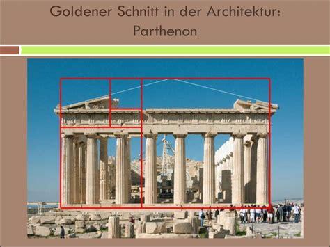 goldener schnitt architektur moderne architektur traditionelle oder untraditionelle