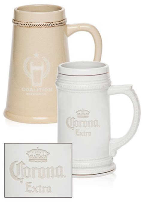 personalized  oz ceramic beer steins bm