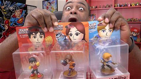 Amiibo Mii Brawler mii amiibo unboxing showcase mii brawler mii