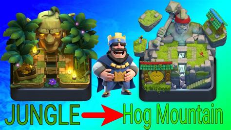 Clash Royale 10 clash royale how to get to arena 10 from 9 jungle arena