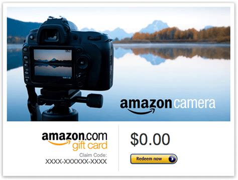 deal of the day spend 100 in camera gift cards at amazon get an additional 25 - Black Friday Free Gift Cards