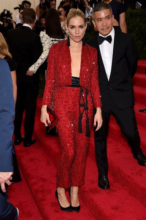 2015 sienna miller met gala costume sienna miller costume institute benefit gala in new york