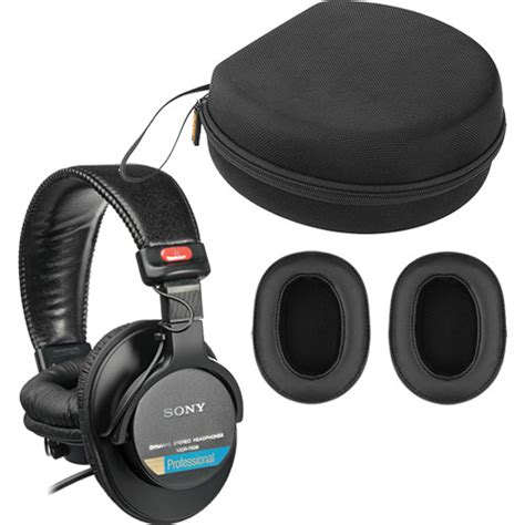 Headphone Sony Mdr 7506 sony mdr 7506 headphones with earpads carrying