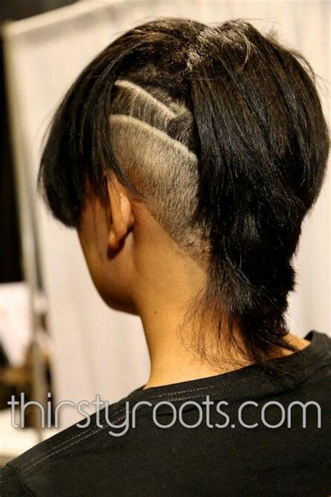 black hair with shafed sides 17 best images about shaved hair designs on pinterest