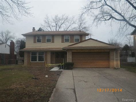 southfield michigan reo homes foreclosures in southfield